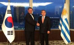 Corea del Sur y Uruguay acuerdan impulsar TLC con Mercosur