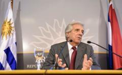 Vázquez expresó sus condolencias al pueblo cubano