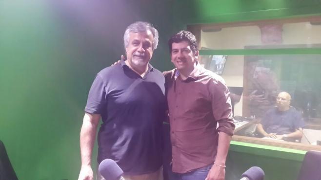 Antonio Pato Castro con Fernando Torrado.
