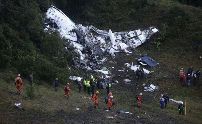 Avión de Chapecoense no tenía combustible