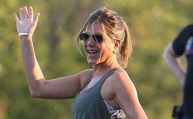 Aniston sueña con volver a los tiempos de Friends