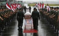 Honras fúnebres por los jugadores del Chapecoense