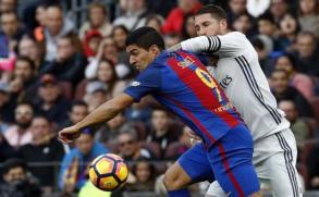 En el clásico español Suárez metió un gol; terminó 1 a 1