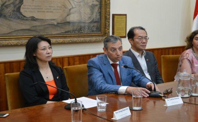 Misión oficial de provincia china visitó Florida