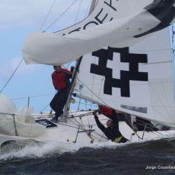 Uruguay lidera Sudamericano J24 de Vela en Punta del Este
