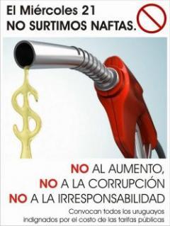 Movilización por aumento de tarifas públicas