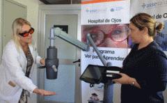 Hospital de Ojos recibió equipo para mejorar tratamientos