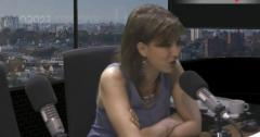 """Verónica Leite sobre Trump: """"Es una figura monstruosa"""""""