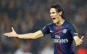 Cavani bate su récord goleador en la Liga francesa
