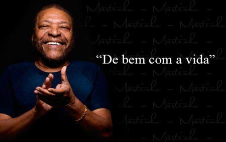 "Martinho da Vila ""fala"" con Fernando anunciando su próximo show en Montevideo"