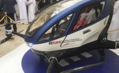 Llegan a Dubai los taxis voladores autónomos