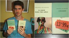 Dos libros de Frédéric Beigbeder