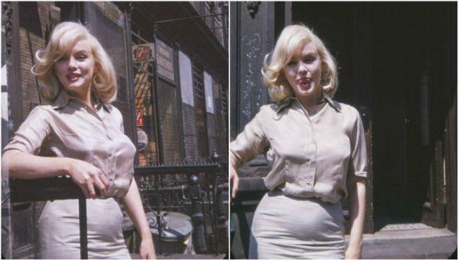 Revelan fotos inéditas de Marilyn Monroe embarazada. Tony Michaels/Mega