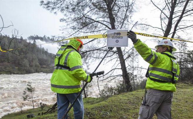 Las imágenes de Oroville; la represa más alta de EEUU. EFE