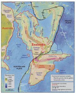 Confirman existencia de un séptimo continente. GSA Today