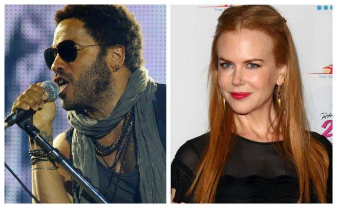 Nicole Kidman casi se casa con Lenny Kravitz