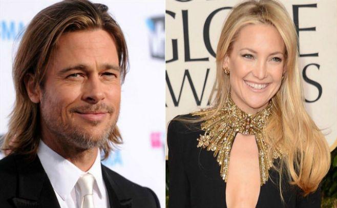 Confirman romance entre Kate Hudson y Brad Pitt