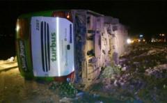 Ascienden a 19 los muertos en accidente de bús en Argentina