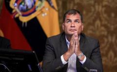 Correa critica a políticos extranjeros en comicios ecuatorianos