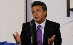 Lenín Moreno lidera escrutinio y es posible una segunda vuelta