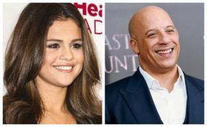 Vin Diesel se lanzó como cantante junto a Selena Gomez