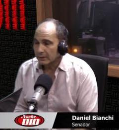 """Daniel Bianchi """"La banca es de la persona, no del partido, lo dice un artículo de la Constitución"""""""