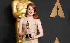 """Emma Stone triunfó como mejor actriz por """"La La Land"""""""