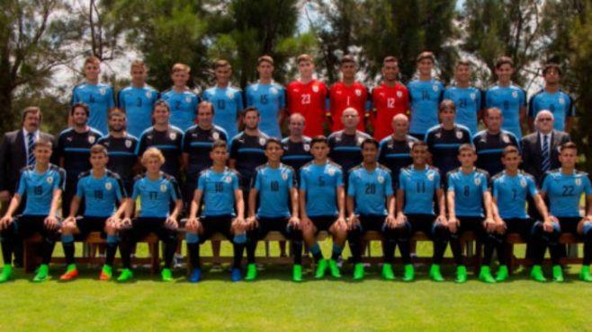 SUB 17: Segunda derrota de Uruguay