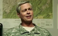"""Netflix presentó el tráiler de """"War Machine"""" con Brad Pitt"""
