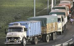 Arroz: Camioneros paran, y piden un aumento en tarifas