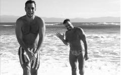 Ricky Martin y Jwan Yosef viven un romance de película