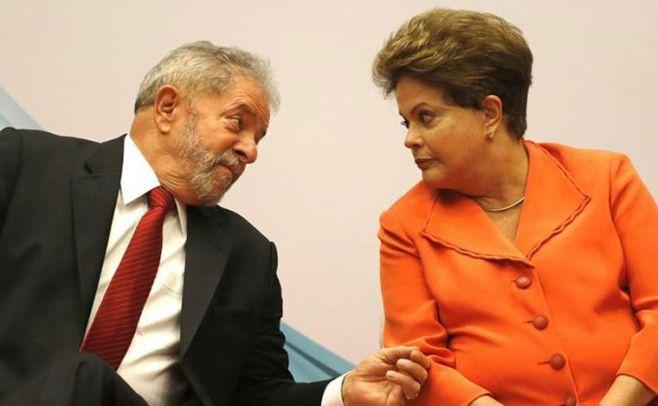 Lula y Rousseff acusan a Temer de apropiarse de sus obras