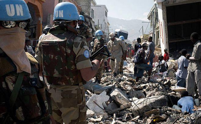Tropas en Haití: lo que no quiso Chifflet y renunció