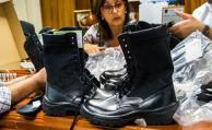 La Policía utilizará calzado fabricado en Uruguay