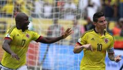 Colombia vuelve a zona de clasificación