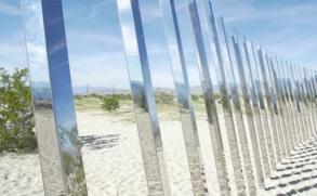 El desierto de California se convierte en galería de arte