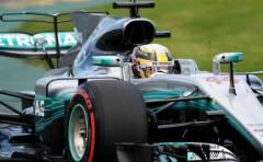 Hamilton estrena 2017 dominando en la 'pole'