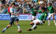 Sin Messi, Argentina perdió
