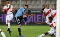 Uruguay perdió ante Perú