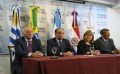 Cancilleres de Mercosur condenaron situación de Venezuela