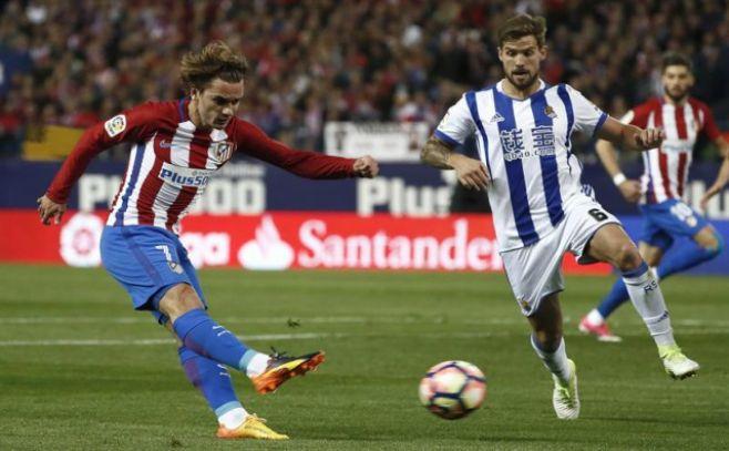 Griezmann le arruinó la fiesta al Real Madrid