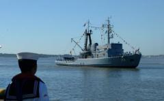 Continúa la búsqueda de 22 tripulantes del carguero coreano