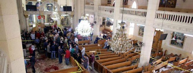 EI asume autoría de atentados contra iglesias egipcias