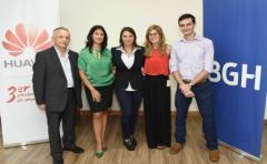 BGH inauguró centro de servicio técnico para clientes de Movistar