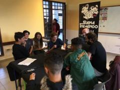 Suena Tremendo inauguró su escuelita de periodismo en el Liceo 73 de Casavalle