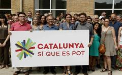 Gobierno de Cataluña firma compromiso de celebrar un referéndum