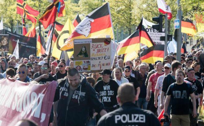 Colonia desafía a ultraderecha alemana y advierte sobre su potencial violento