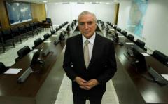 Temer quiere ser recordado como el que encaminó a Brasil