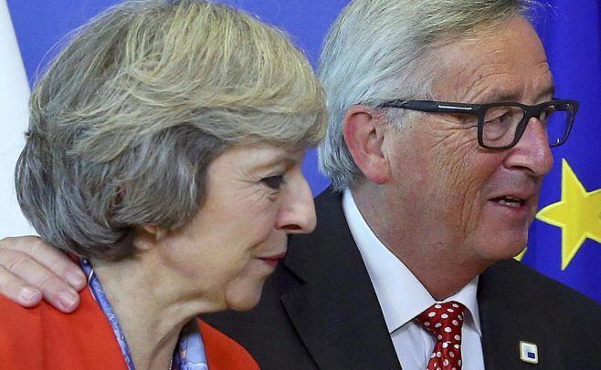 Políticos y funcionarios europeos buscan influir en elecciones británicas: May