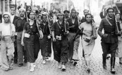 Izquierda republicana en vanguardia contra el fascismo